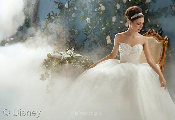Princess Ball Gown Wedding Dresses: Alfred Angelo Disney Princess Wedding Dress Collection