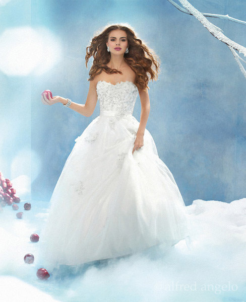Alfred Angelo Disney Princess Wedding Dress Collection | iamvii